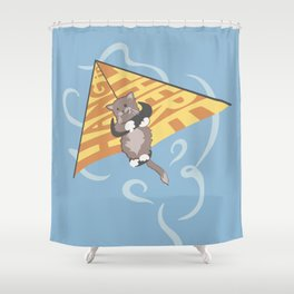 Hang (glide) in There Shower Curtain