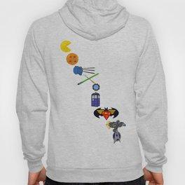 Geekiest Coexist - Diagonal Hoody
