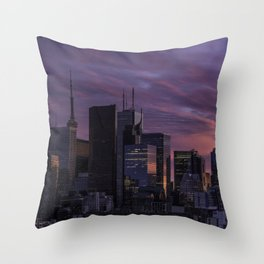 Summer in the 6ix Throw Pillow