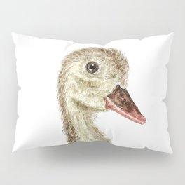 smiling little duck Pillow Sham
