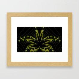 Fractal Roots Framed Art Print