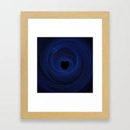 Valentine's Fractal III - Dark Framed Art Print