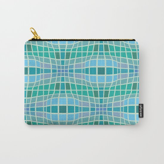 Protrusion and retraction - Optical Game 18 Carry-All Pouch