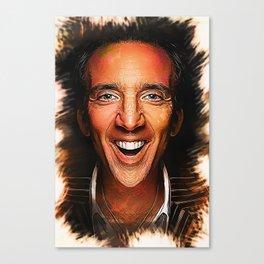 Nicolas Cage - Caricature Canvas Print