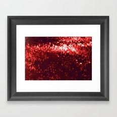 Declaration of love Framed Art Print