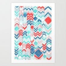 Pattern 31 Art Print