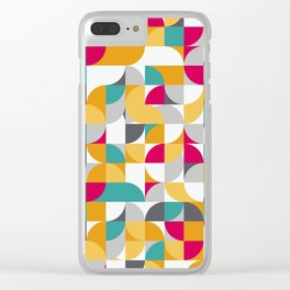 vector Design Deco. Clear iPhone Case