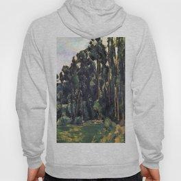 1880 - Paul Cezanne - Poplars Hoody