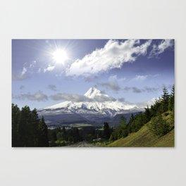 Wy'east - Mount Hood Canvas Print