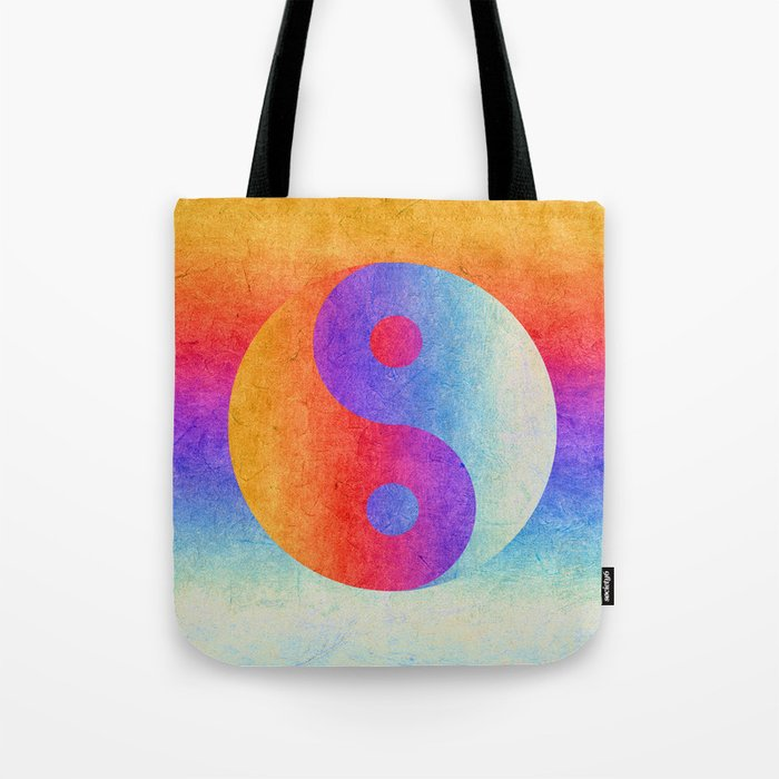 Yin and Yang II Tote Bag
