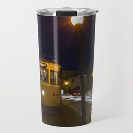 Porto Night Tram Travel Mug
