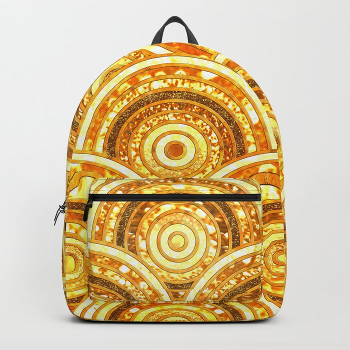 Aztec gold Backpack
