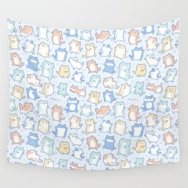 Kitty Dance Off! Wall Tapestry