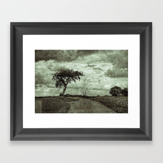 The Lonely Road Framed Art Print