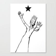 Lazarus 3 - Bowie Blackstar tribute Canvas Print