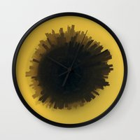 philippines Wall Clocks featuring Manila, Philippines by FrancisDelapena.com
