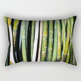 Bamboo Carvings Rectangular Pillow