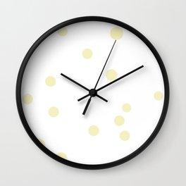 Slats Leer Wall Clock