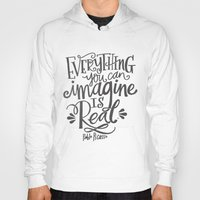 imagine Hoodies featuring IMAGINE by Matthew Taylor Wilson