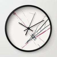 bridge Wall Clocks featuring BRIDGE by  ECOLARTE