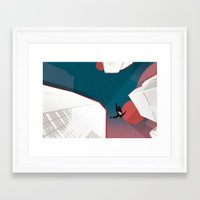 mad men Framed Art Prints featuring Mad Men by PIXERS