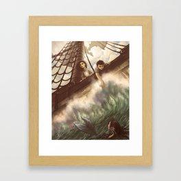 Seas of Adventure Framed Art Print