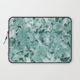 Mint Green Crystal Marble Laptop Sleeve