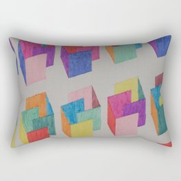 Isometric Markers Rectangular Pillow