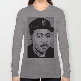 Nasir Jones Long Sleeve T-shirt