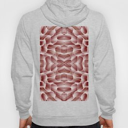 Fractal Art - Rose Hoody