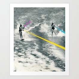 Competitive Strategy Art Print