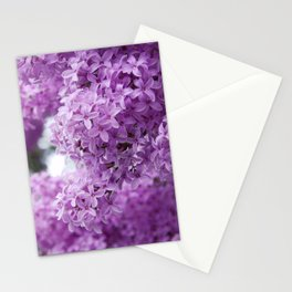 lilacs up close Stationery Cards