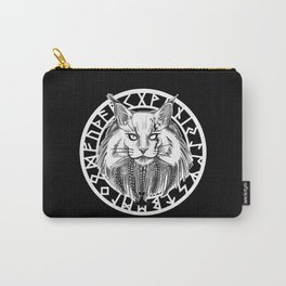 Viking Cat Carry-All Pouch