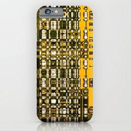 Lectroyello iPhone Case