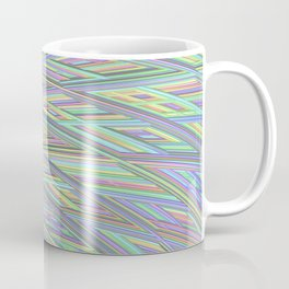 Pastel Rainbow Fractal Texture Coffee Mug