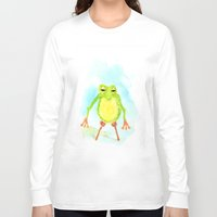 phil jones Long Sleeve T-shirts featuring Pegleg Phil by Taylor Winder