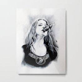 Anna Murphy. Metal Print