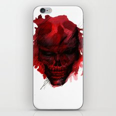 Red Skull iPhone & iPod Skin