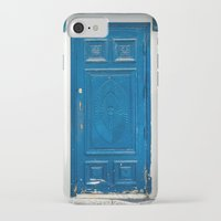 greece iPhone & iPod Cases featuring Greece Door by Diego Tirigall