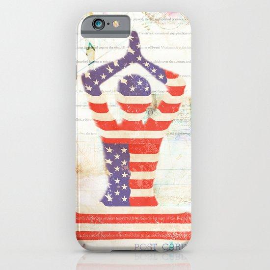 Americana Yoga iPhone & iPod Case