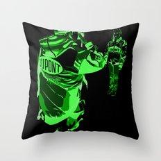 Racing Fans Throw Pillow