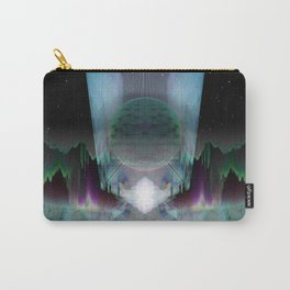The Glass Station [series: Glitch Re:Work] Carry-All Pouch