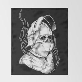 Dead Knight Throw Blanket