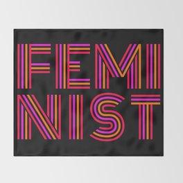 FEM·I·NIST Throw Blanket