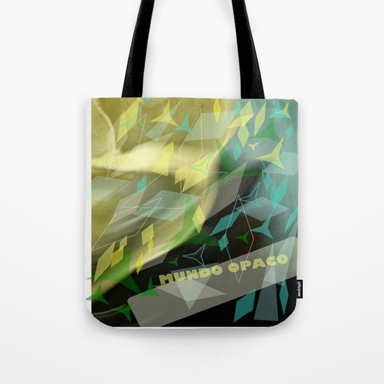 Opaque world: garment in the air. Tote Bag