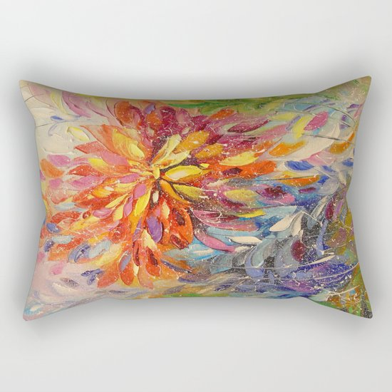 An explosion of emotions Rectangular Pillow