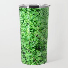 Textures in Green Travel Mug