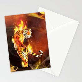 Chinese tiger painting  Stationery Cards