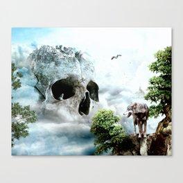 Cloudy Path Canvas Print