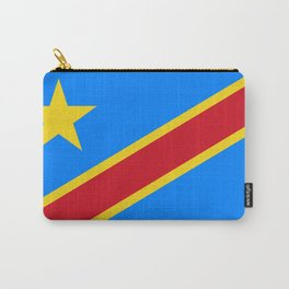 National flag of the Democratic Republic of the Congo, Authentic version (to scale and color) Carry-All Pouch